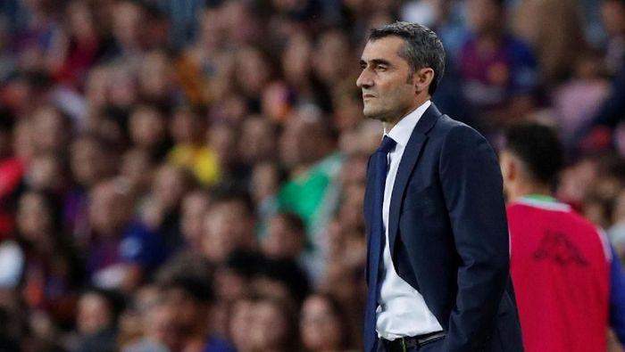 Pelatih Barcelona, Ernesto Valverde (Albert Gea/Reuters)
