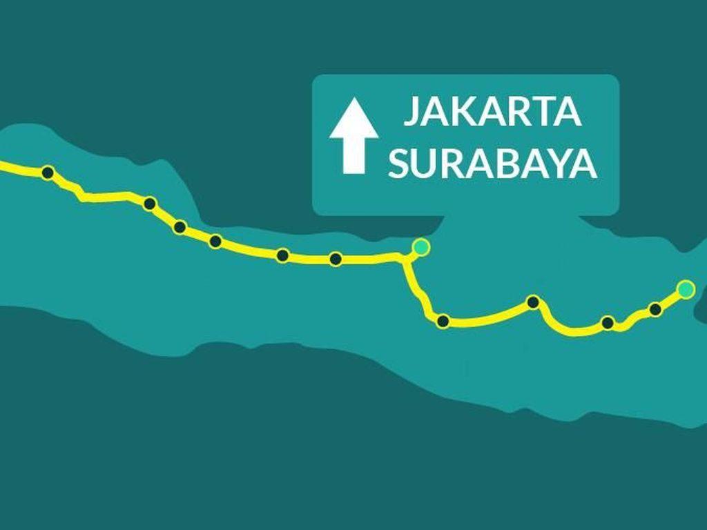 Dari Jakarta ke Surabaya Pakai Tol, Butuh Duit Berapa?
