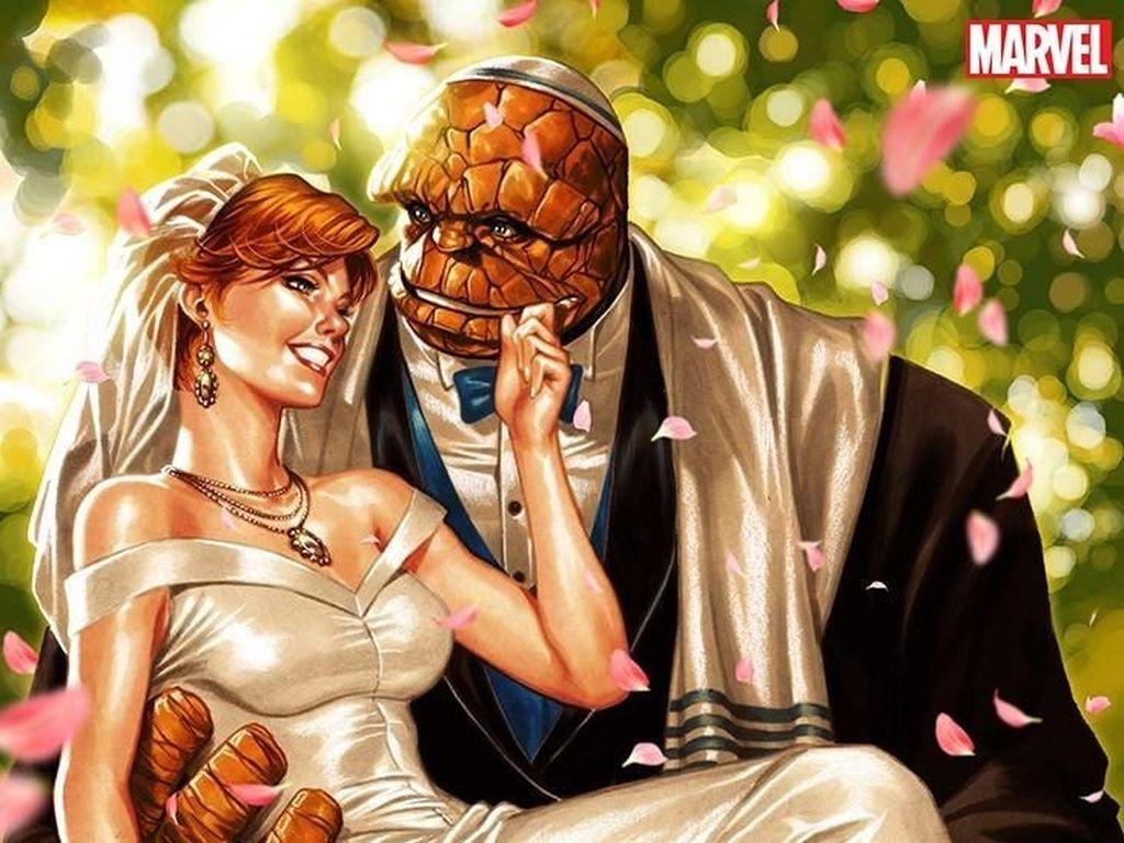 Marvel Comics Pastikan The Thing Fantastic Four Akhirnya Menikah