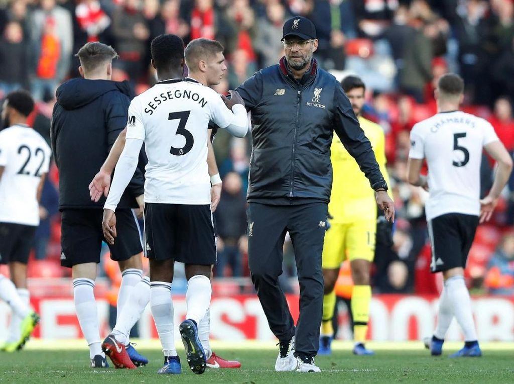 Klopp Dominan Atas Tim Promosi di Anfield