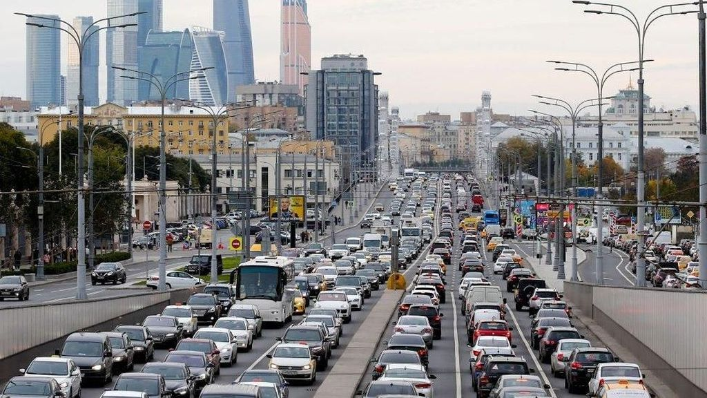Ketika Polisi Moskow Harus Relakan Hangusnya 5 Juta Karcis Tilang
