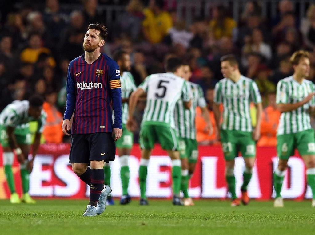 Ada Lionel Messi, Kenapa Barcelona Malah Kalah?