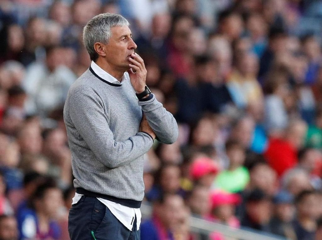 Real Betis Vs Barcelona: Laga Spesial Buat Setien