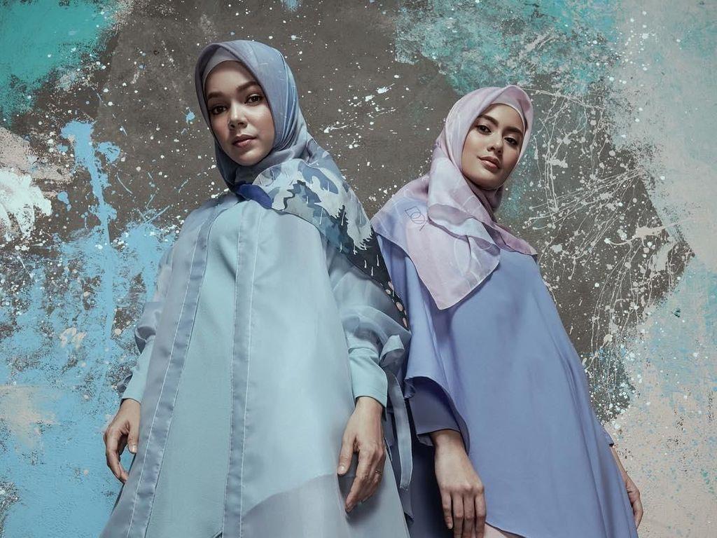 Foto: Intip Desain Busana Muslim Doa, Buatan Dewi Sandra