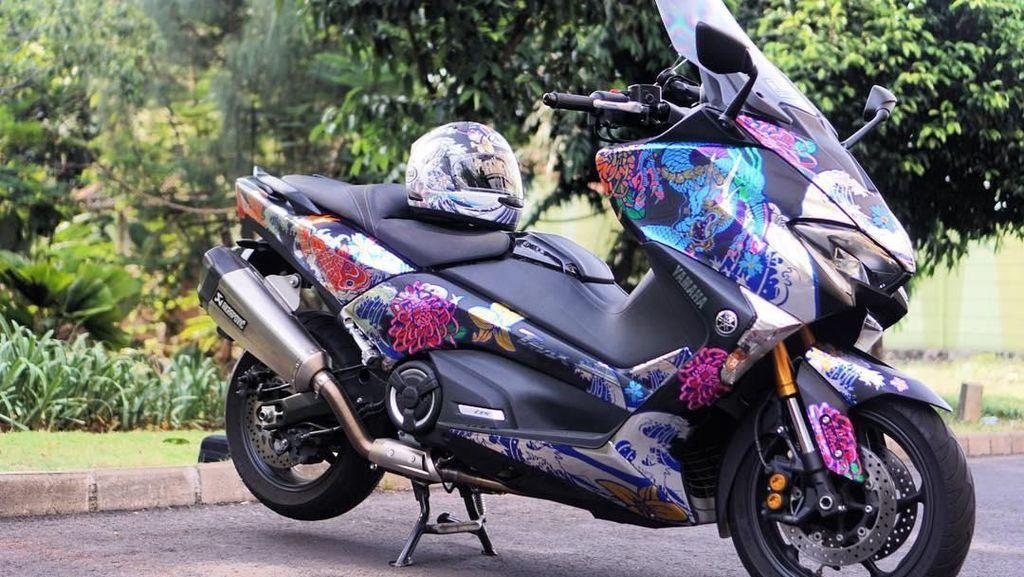 Bikin Motor Tambah Ganteng dengan Stiker Decal