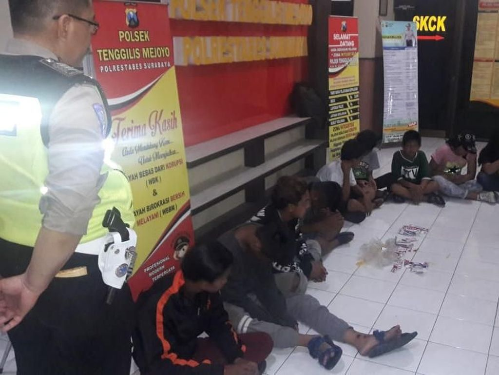 10 Anak Tertangkap Basah Ngelem, Pemkot Surabaya Turun Tangan