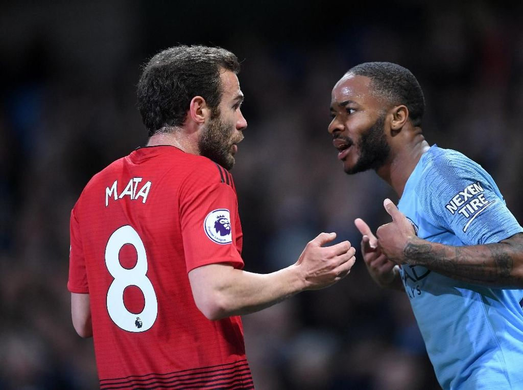 Aksi Sterling yang Bikin Mata dan Guardiola Marah-Marah