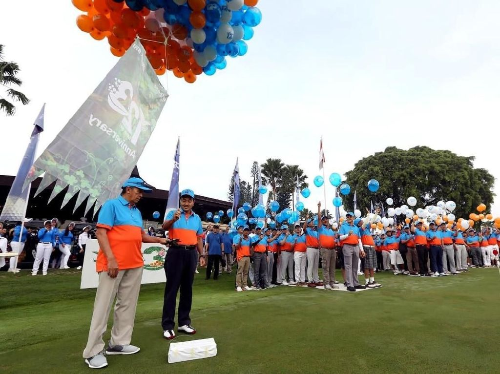 Ultah ke-123, BRI Gelar Kompetisi Golf