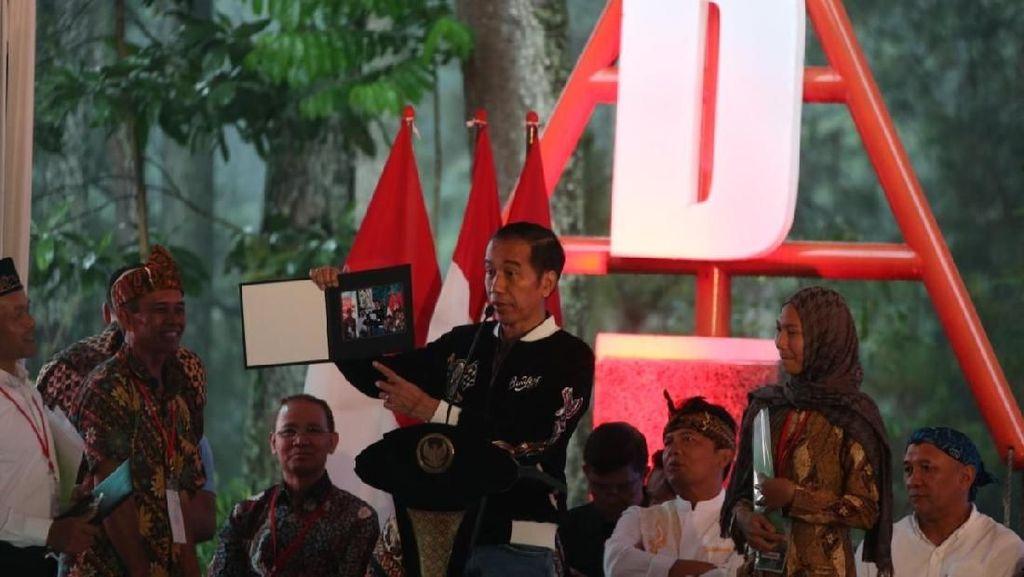 Jokowi Hadiri Progam Perhutanan Nasional
