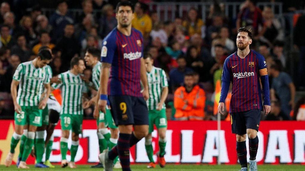 Petaka di Camp Nou, Barca Dipecundangi Betis