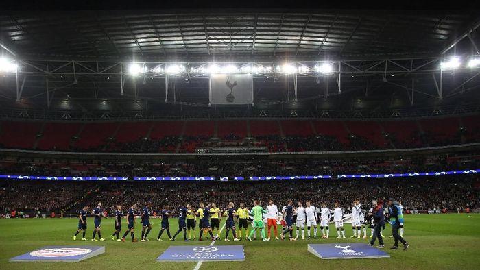 Tottenham Hotspur pakai Wembley hingga akhir musim (David Klein/REUTERS)