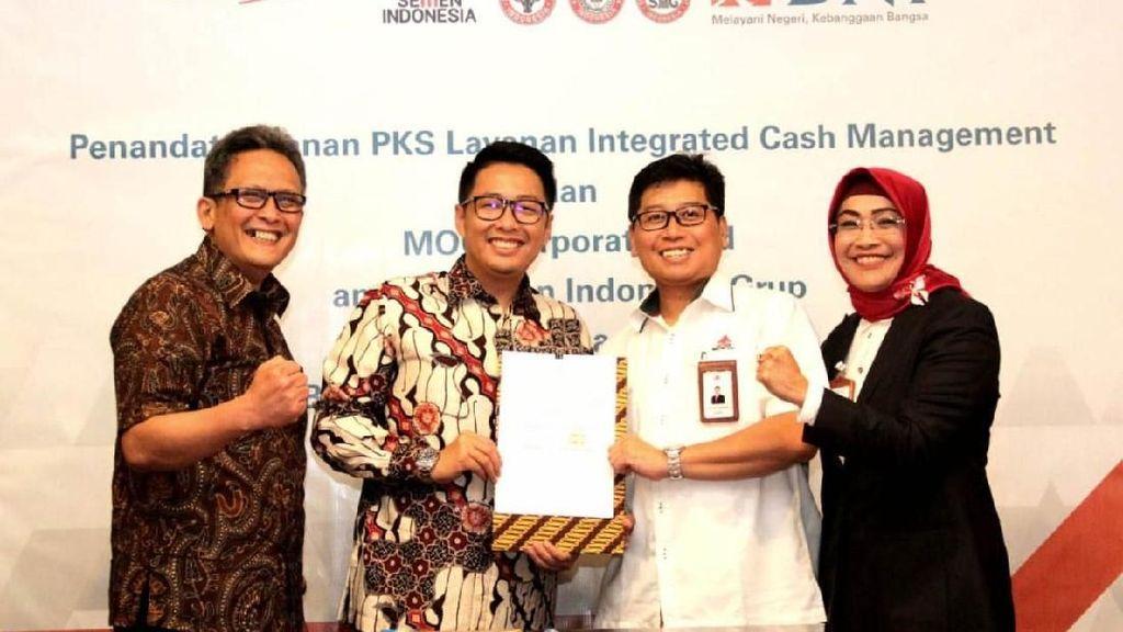 BNI Gandeng Semen Indonesia