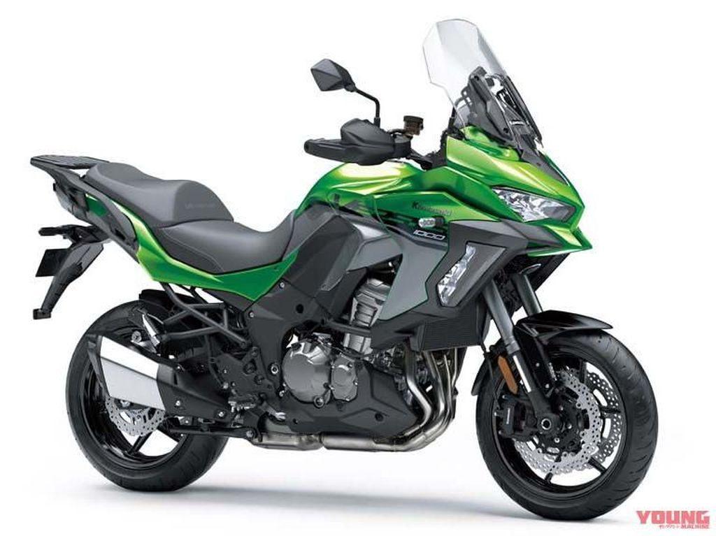 Tampang Terbaru Kawasaki Versys 1000 Versi 2019
