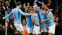 Hasil Manchester City vs Manchester United: The Citizens Menang 3-1