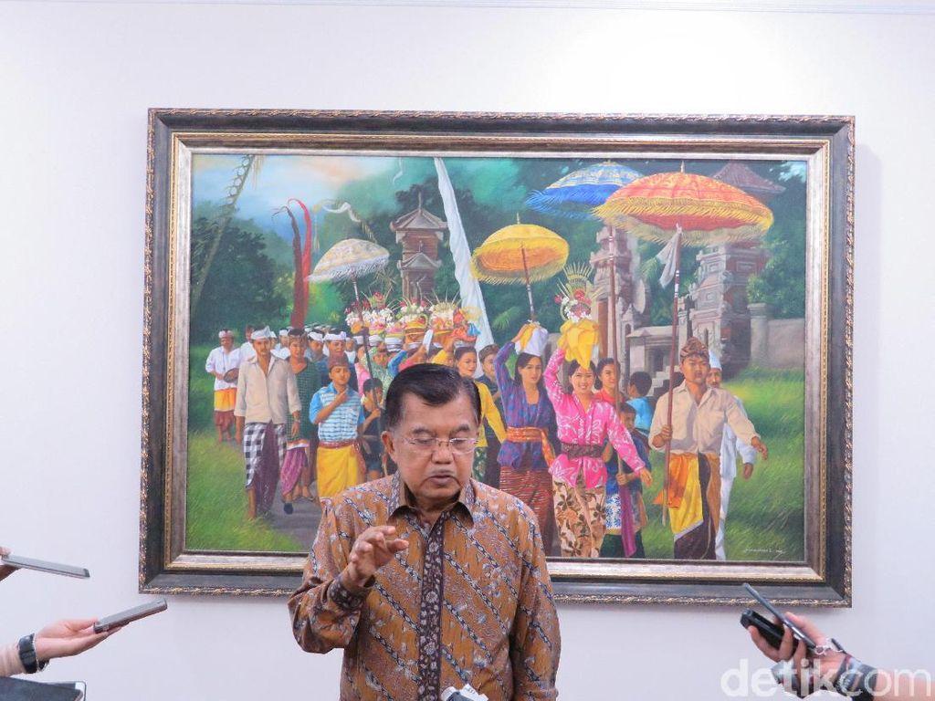 JK: Saya Belum Pernah Dengar Pak Jokowi Dianggap Santri