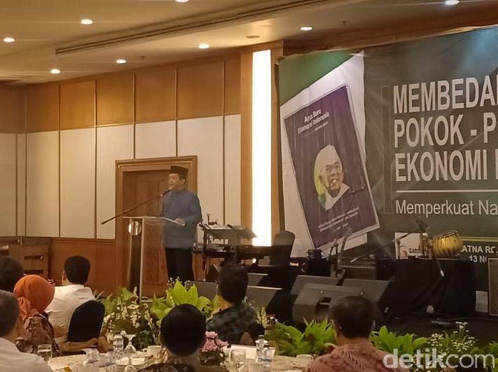 Soetrisno Bachir ke Peluncuran Buku Maruf, PAN: Nggak Masalah