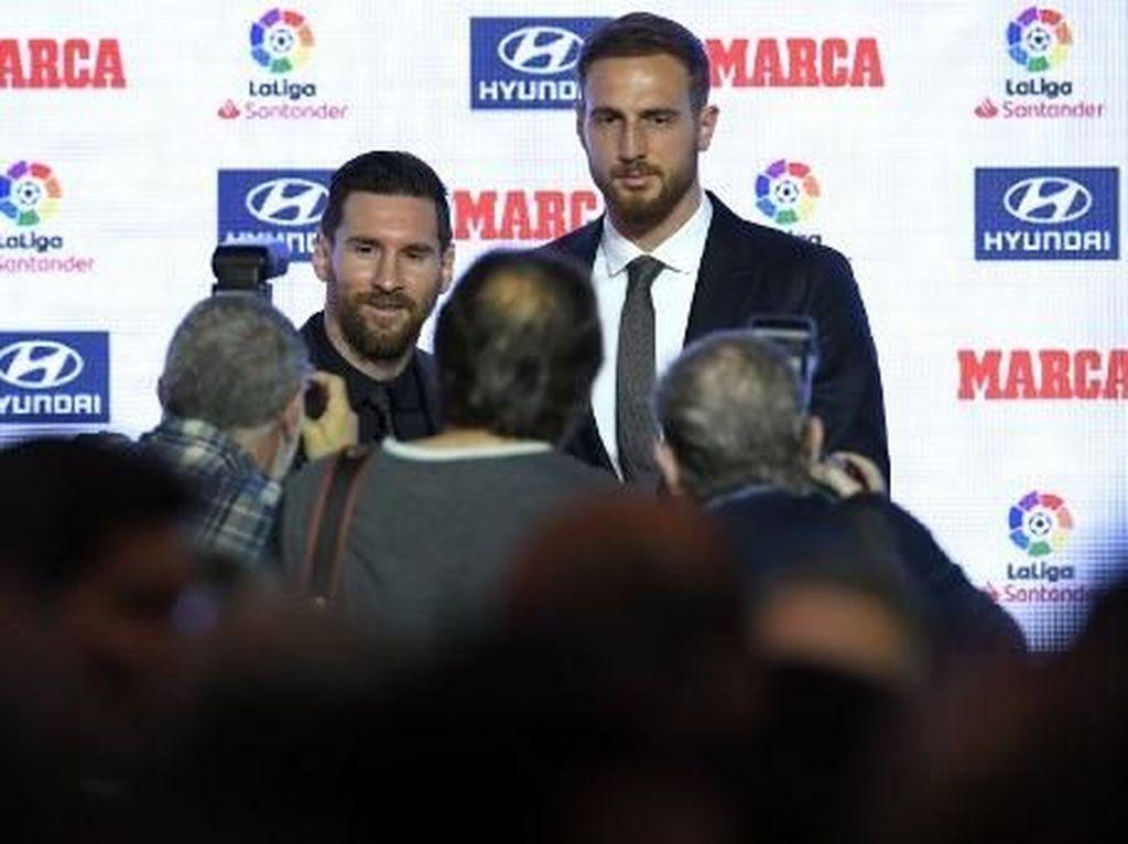 Jan Oblak: Lebih Mudah Bermain Satu Tim dengan Lionel Messi