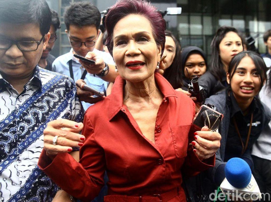 Miranda Goeltom Kenang Bahas Dana Patungan Pesawat R80 dengan Habibie