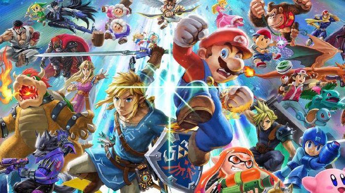 Belum juga dirilis, Super Smash Bros Ultimate sudah dibajak. Foto: istimewa