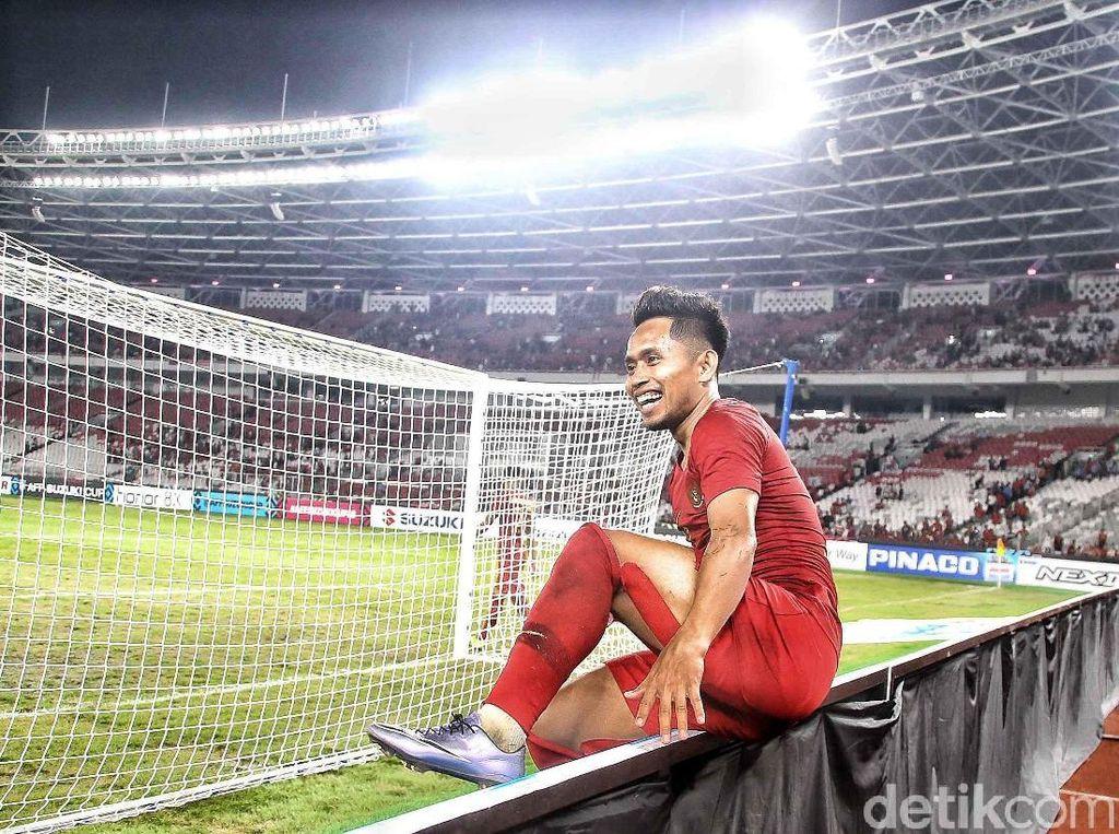 Andik Tak Menyangka Jadi Man of The Match
