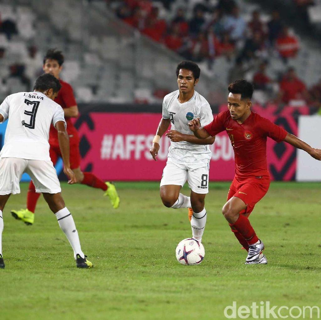 Comeback, Indonesia Menang 3-1 atas Timor Leste