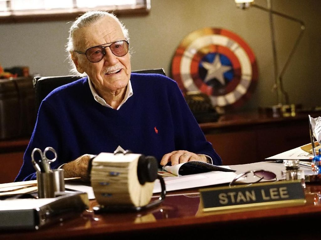Stan Lee Bakal Muncul di Captain Marvel?
