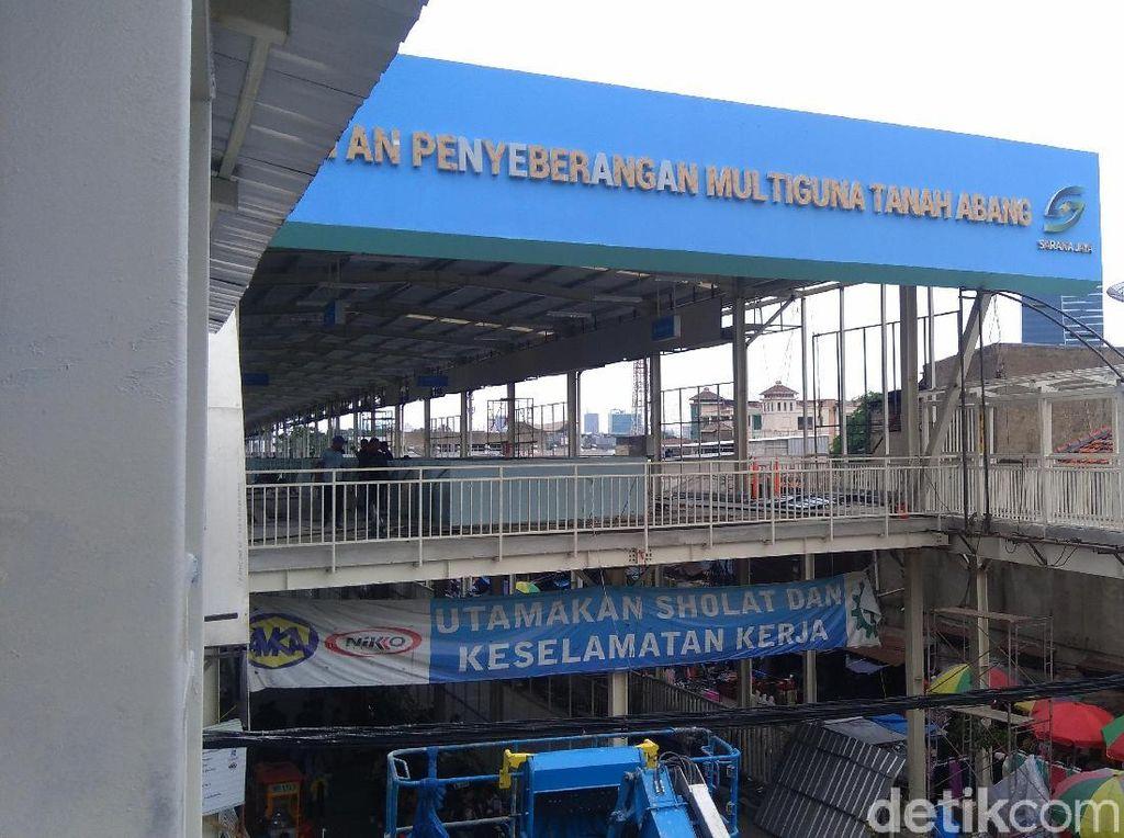 Pemprov DKI-Ombudsman Cek Kesiapan Skybridge Tn Abang Besok