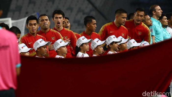 Timnas Indonesia terbang ke Thailand hari ini untuk bersiap menjalani laga ketiga di Piala AFF 2018 (Pradita Utama/detikSport)
