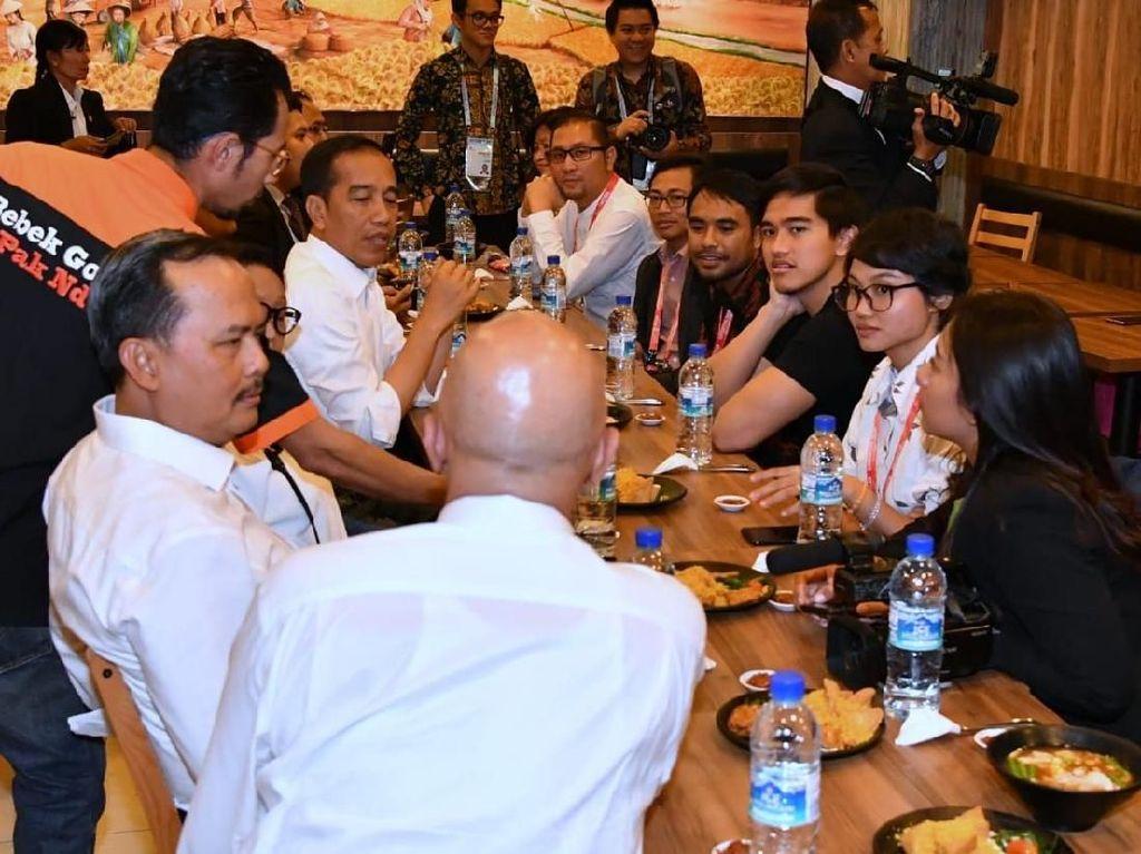 Jokowi Goda Kaesang: Sang Pisang Belum Ada di Singapura?