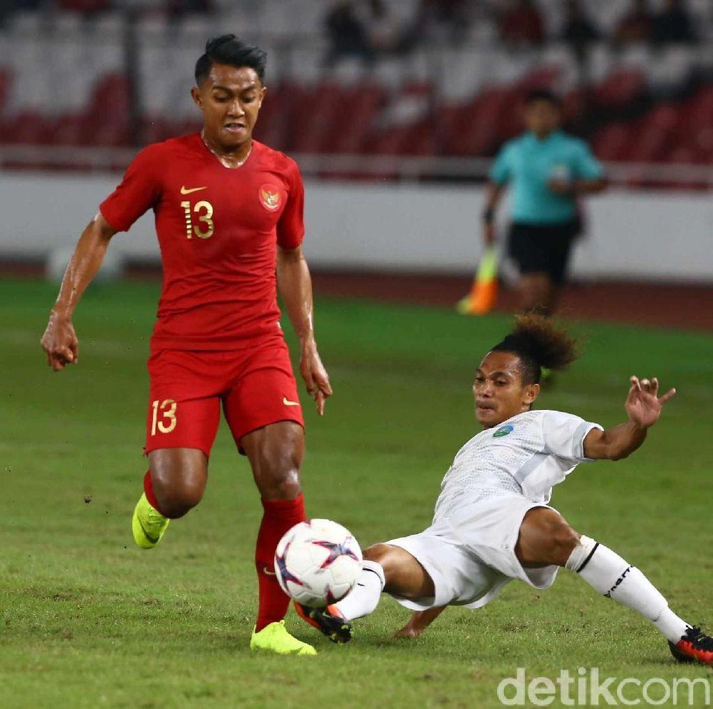 Babak I Indonesia Vs Timor Leste Masih Tanpa Gol