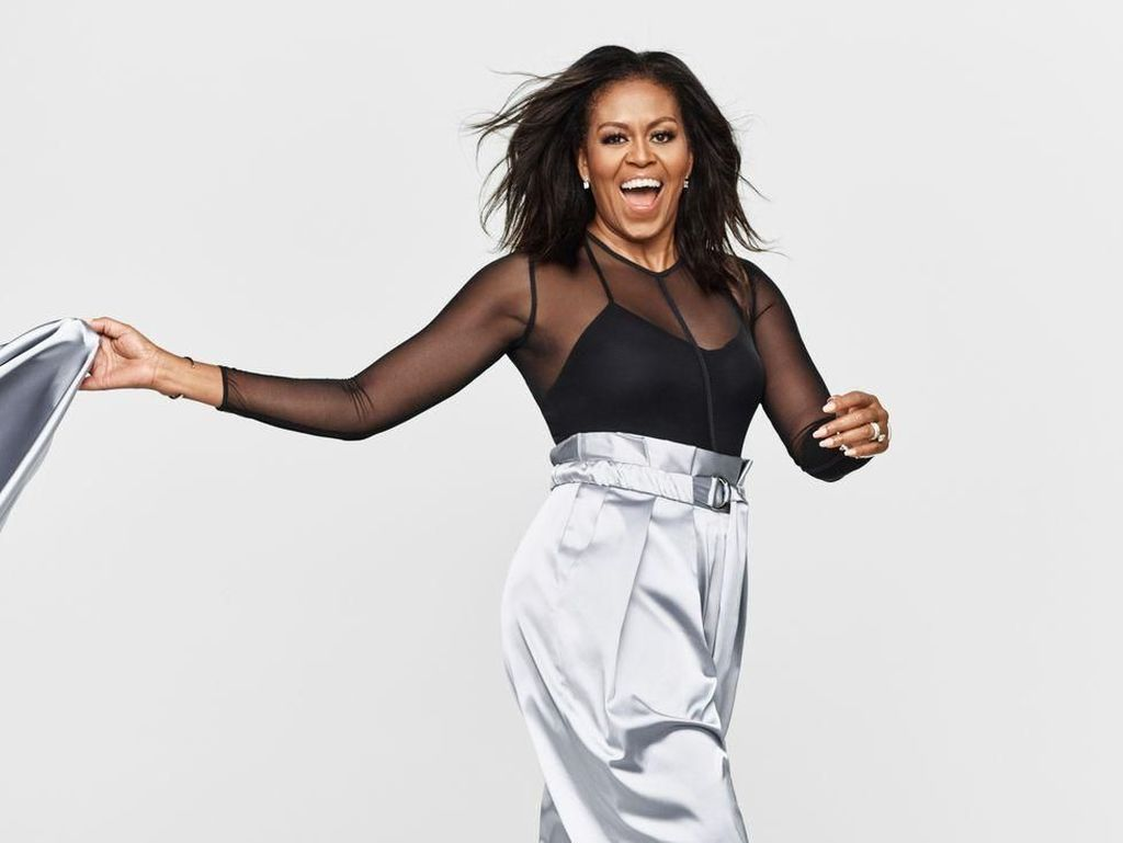 Michelle Obama Raih Piala Grammy