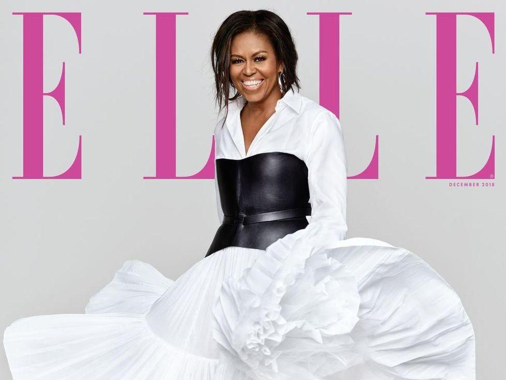 Rilis Buku Biografi, Michelle Obama Eksis Lagi di Cover Majalah Fashion
