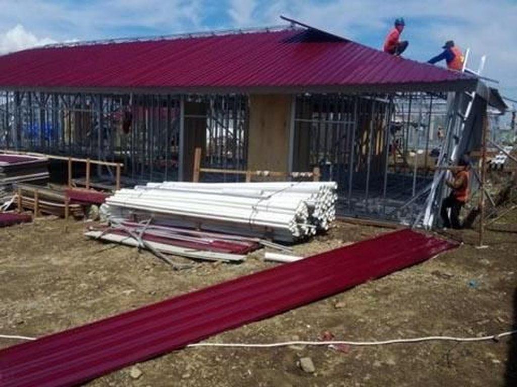 Pemulihan Sulteng Pasca Tsunami, 21.000 Rumah Tapak Dibangun
