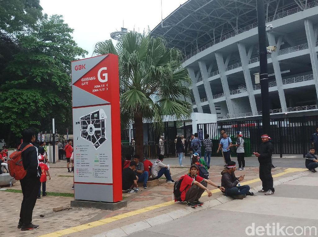 Kurang Merah! Sepinya Penonton Indonesia vs Timor Leste di SUGBK