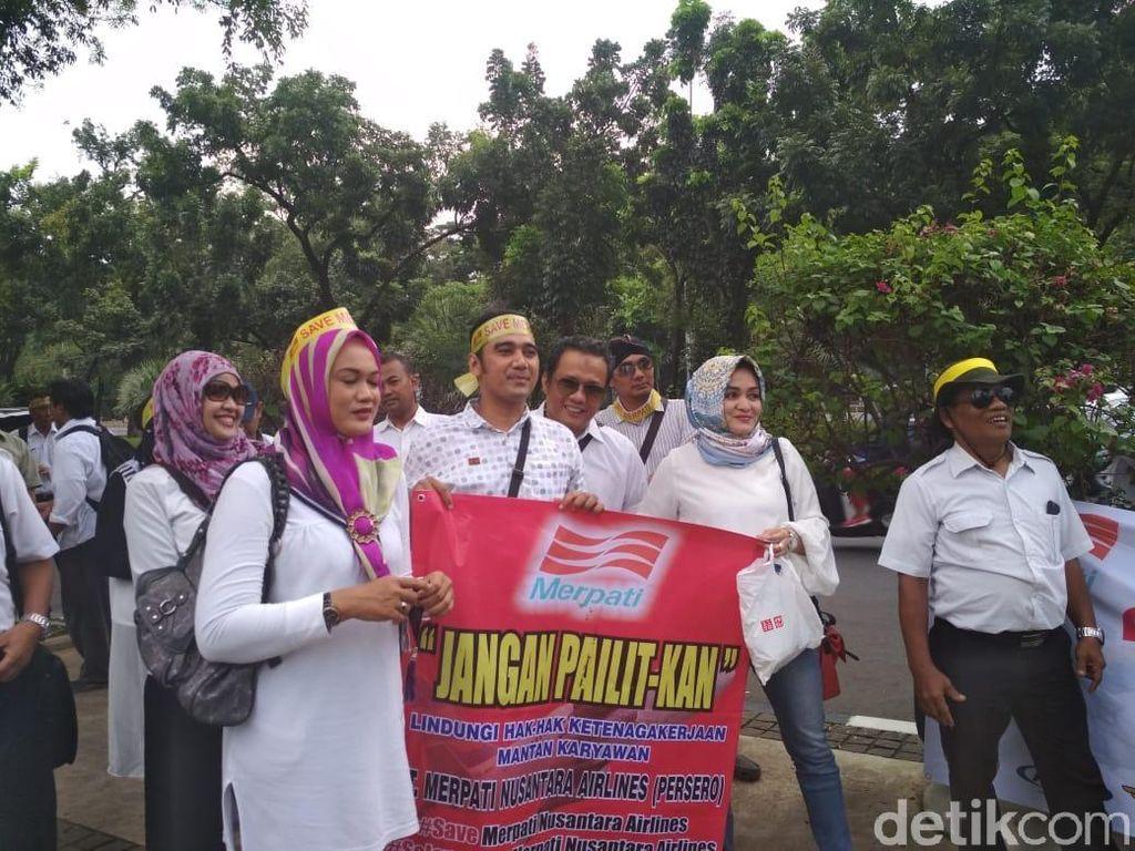 Eks Karyawan Merpati Bertemu Pejabat Kementerian BUMN
