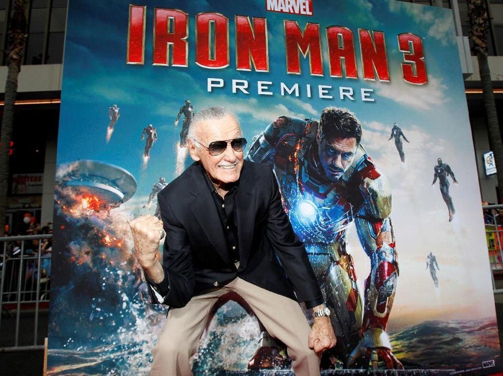 Kisah Stan Lee, Kreator Marvel yang Hidup di Antara Penjahat Nyata