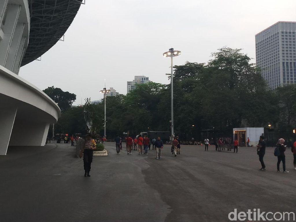 Jelang Indonesia vs Timor Leste, GBK Kok Enggak Memerah?