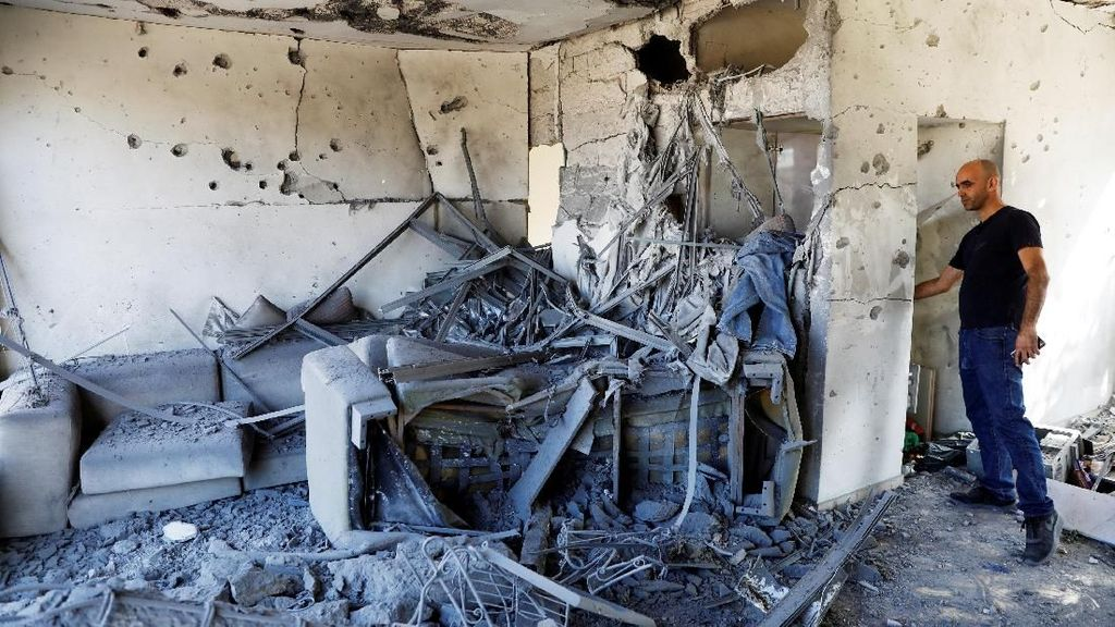 Tentara Hamas Tewas Usai Diserang Tank Israel di Gaza