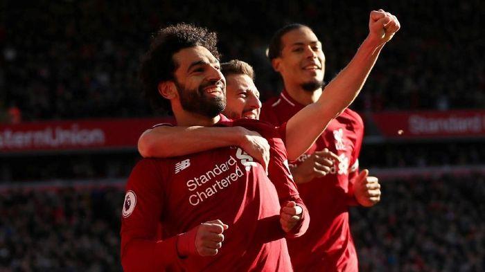 Liverpool tak terpengaruh dengan laju kencang Manchester City. (Foto: Lee Smith/Action Images via Reuters)