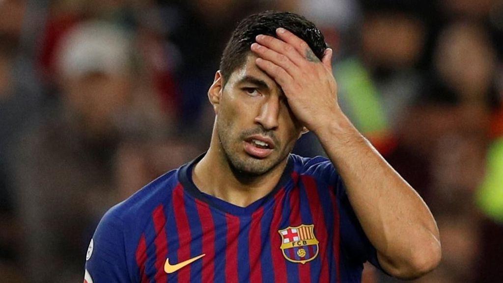 Suarez-Pique Cekcok Usai Barcelona Dikalahkan Betis
