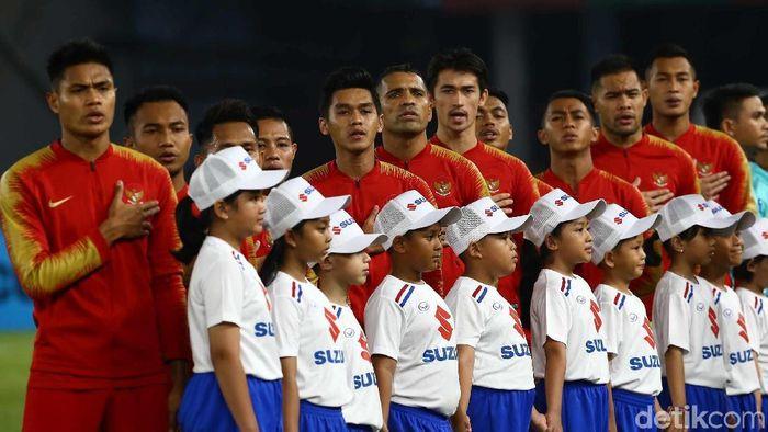 Ponaryo Astaman berharap amarah suporter ke PSSI tak dilimpahkan ke Timnas Indonesia. (Foto: Pradita Utama/detikcom)