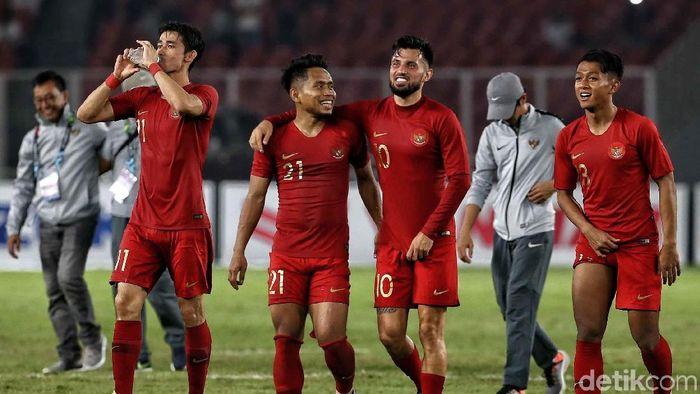 Timnas Indonesia harus bisa terlecut dengan kritikan. (Foto: Pradita Utama/detikcom)
