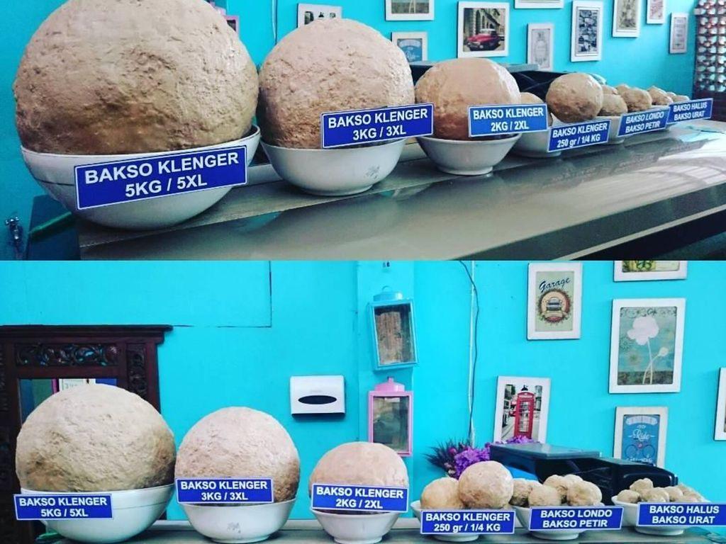 Dijamin Mantap! Makan Bakso Seberat 20 Kg hingga 45 Kg di Bakso Klenger