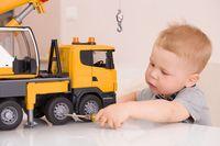 Ilustrasi mainan kreatif untuk anak