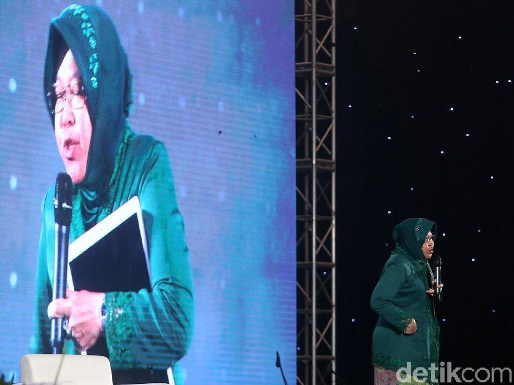 Pengunjung InnoCreativation Lesehan Bareng Tri Rismaharini