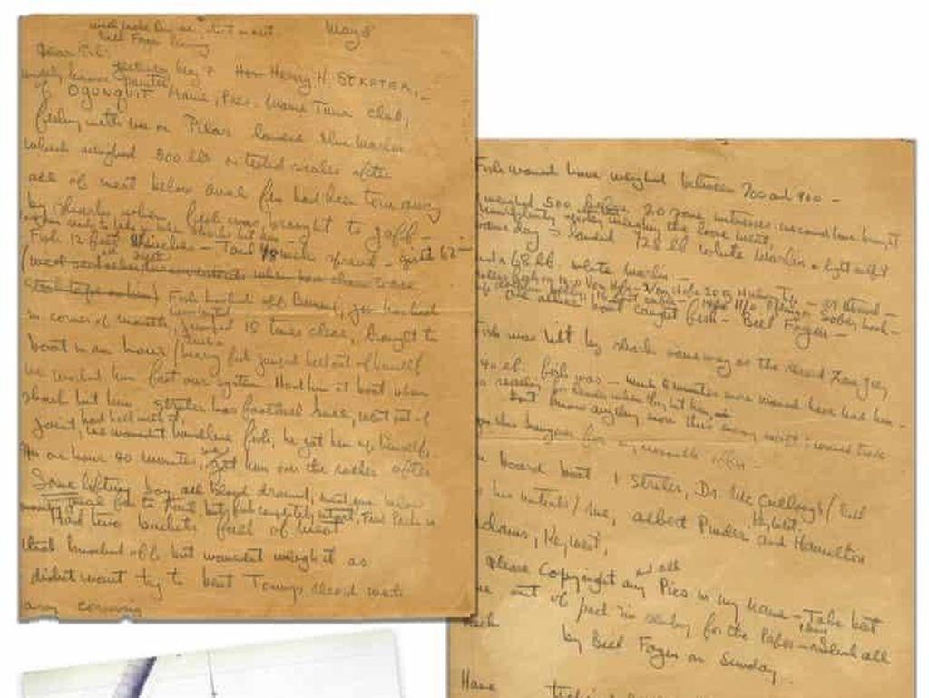 Arsip Novel Old Man and the Sea Dilelang Rp 414 Juta