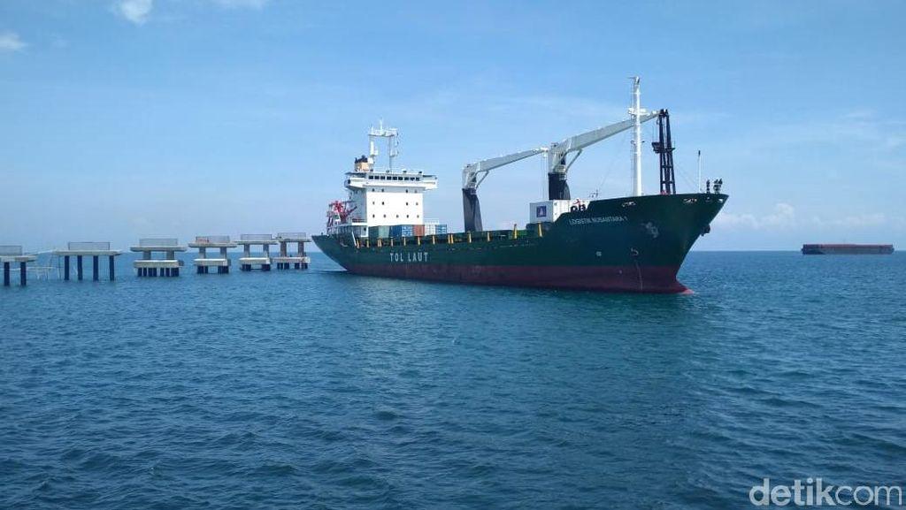 Terminal Baru Pelabuhan Probolinggo Uji Coba Tol Laut