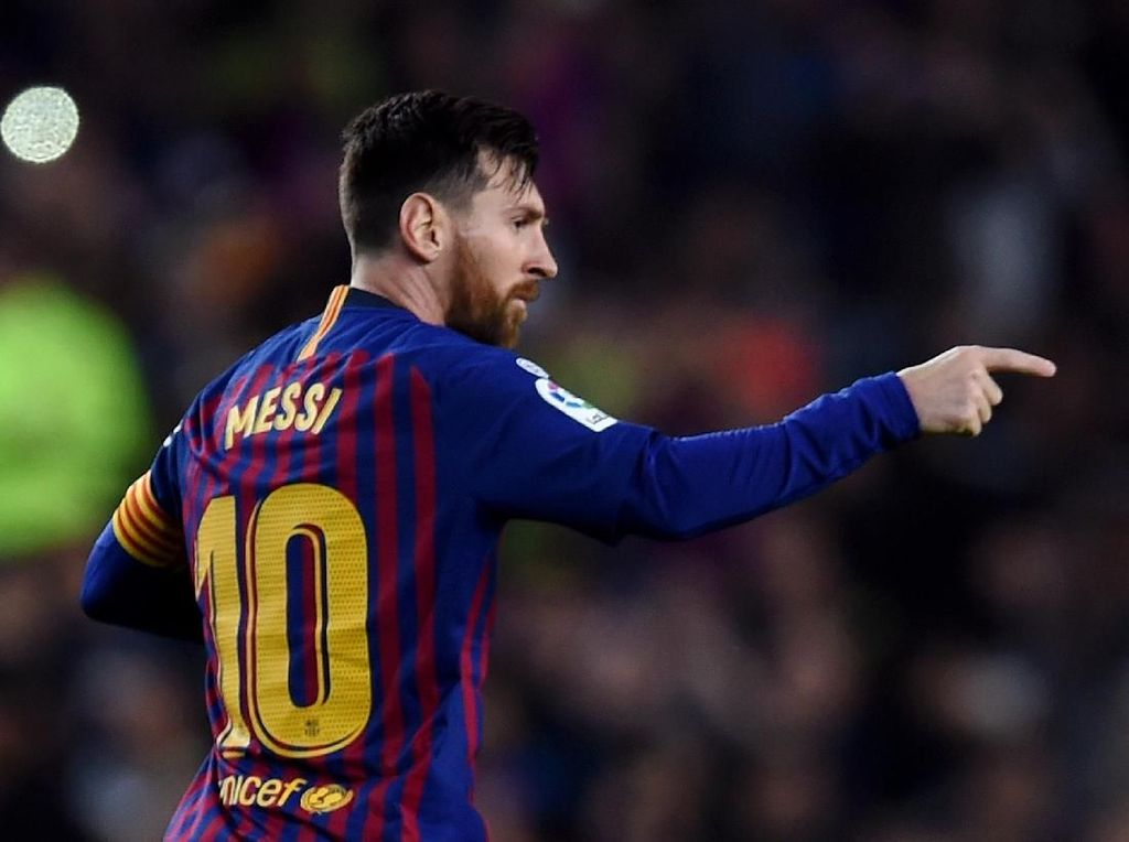 Barcelona Siapkan Kontrak Seumur Hidup untuk Messi