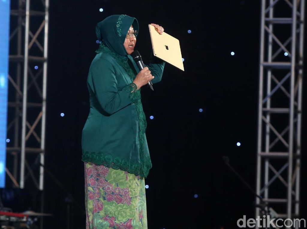 Risma Bakar Semangat Peserta InnoCreativation Surabaya