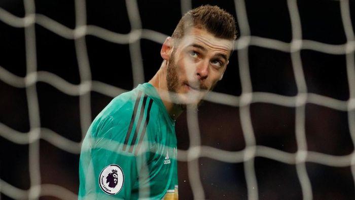 David de Gea bukan tidak mungkin akan meninggalkan MU demi Liga Champions. (Foto: Darren Staples/ Reuters)